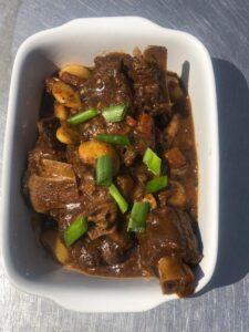 Oxtail & Butterbean stew (gf)